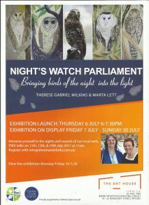 Nights Watch Parliament Flyer.