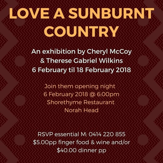 Shorethyme Sunburnt Country Feb 2018